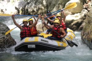 Rafting in Calabria