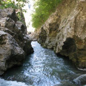 Rafting lungo il fiume lao