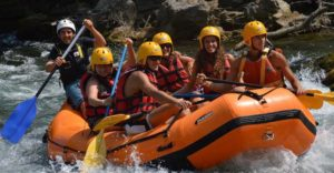 Discesa Rafting Famiglie Fiume Lao