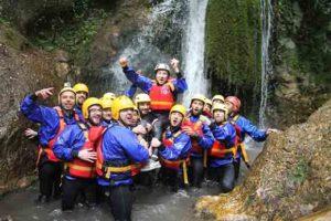 Offerta rafting in gruppo