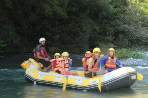 rafting bambini in calabria