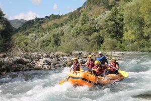 Rafting explorer Fiume Lao