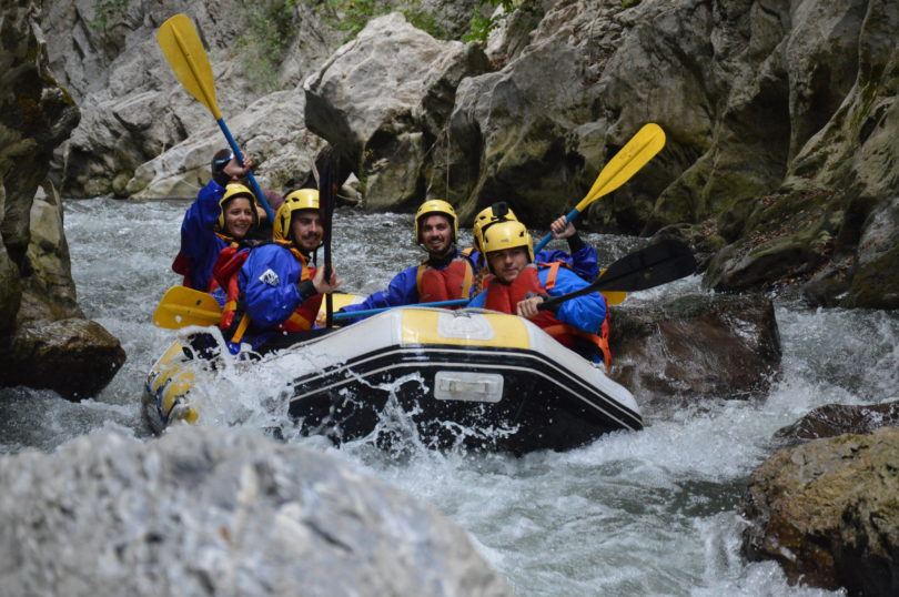 Rafting laino Explorer borgo