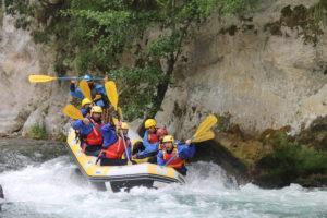 Rafting explorer Calabria